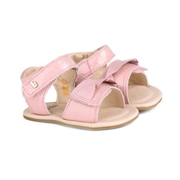 Sandale Fetite Bibi Afeto Roz Cu Volan