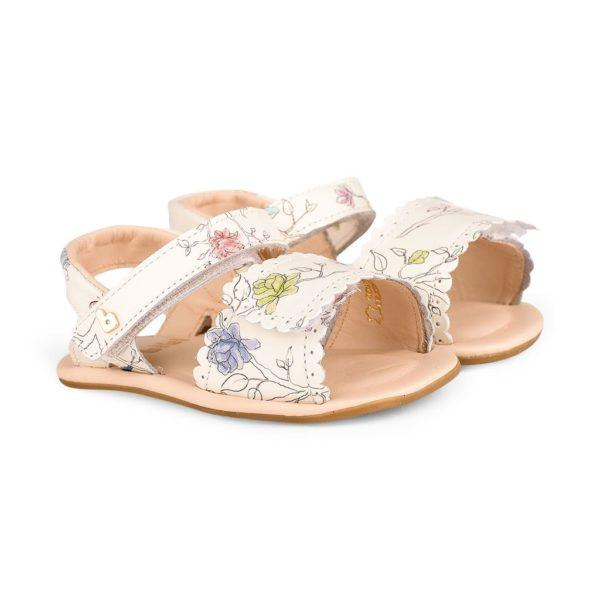 Sandale Fetite Bibi Afeto Albe Floral